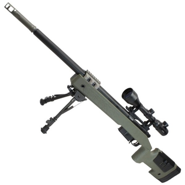 【B品エアコキ】S&T M40A5 エアーコッキング ライフル OD(無刻印)【注意※掲載画像は通常版となり実際のB品画像ではありません】