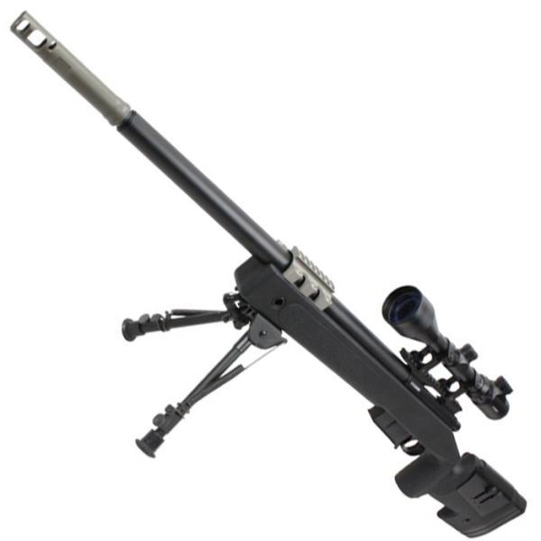 【B品エアコキ】S&T M40A5 エアーコッキング ライフル BK(無刻印)【注意※掲載画像は通常版となり実際のB品画像ではありません】