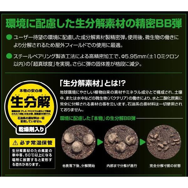 東京マルイ 0.2g ベアリング生分解BB弾 1600発入 webshopashura 03