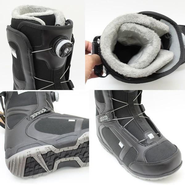 head スノーボード ブーツ BoA 15-16モデル SCOUT PRO BOAブーツ BLACK-GREY  ボアシステム メンズ ヘッド スノーボードブーツ|websports|03