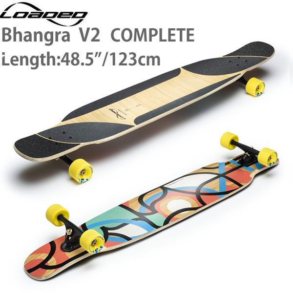 ロングスケートボード ローデッド バングラ Bha...