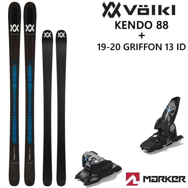 フォルクル スキー板 VOLKL ID VOLKL 19 20 KENDO 88 2020