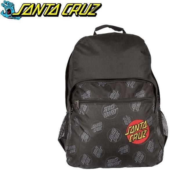 サンタクルーズ リュック SANTACRUZ ALL OVER DOT Backpack スケートボード バッグ スケボー リュック