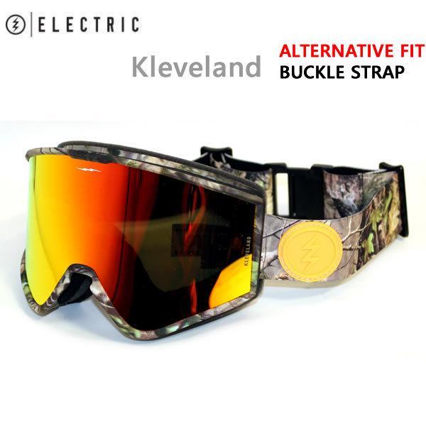 エレクトリック ゴーグル ELECTRIC KLEVELAND REALTREE / BROSE/RED CHROME(21-22 2022)スノーボード ゴーグル