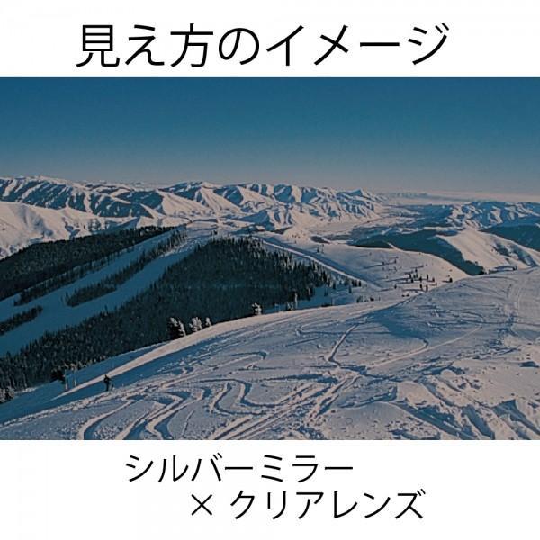 スワンズ ゴーグル SWANS ロヴォ [ROV]O-MDH-SC  ブラック×シルバー スキーゴーグル スワンズ|websports|05
