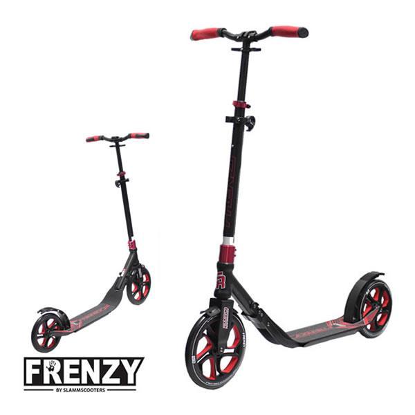 FRENZY フレンジー キックボード FR250  Red  レッド  250mmビッグウィール&フットブレーキ搭載 大人用 キックスクーター  正規販売店