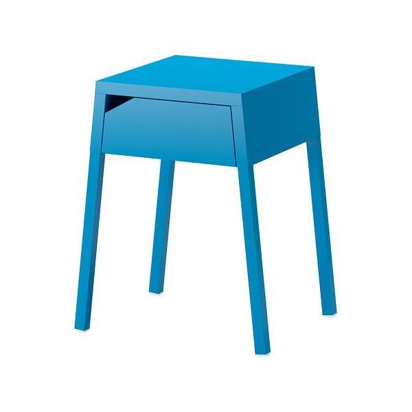 RoomClip商品情報 - IKEA/イケア SELJE ベッドサイドテーブル, ブルー