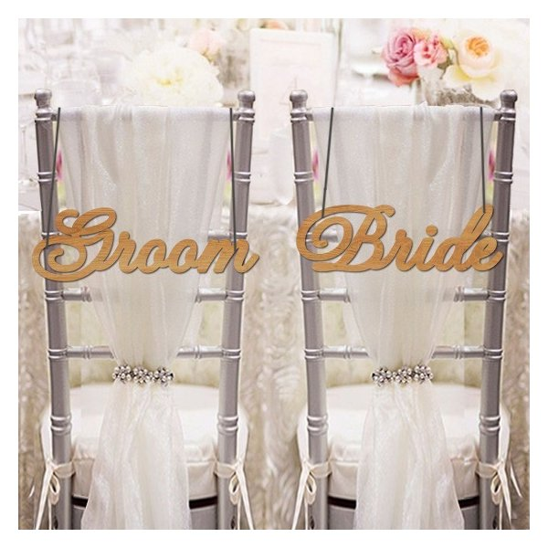 チェアサイン04GroomBride|weddingdecor