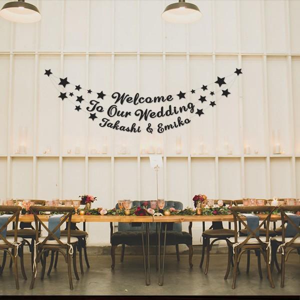 レターバナーガーランド01_手描きカリグラフィー文字:DIY|weddingdecor|04