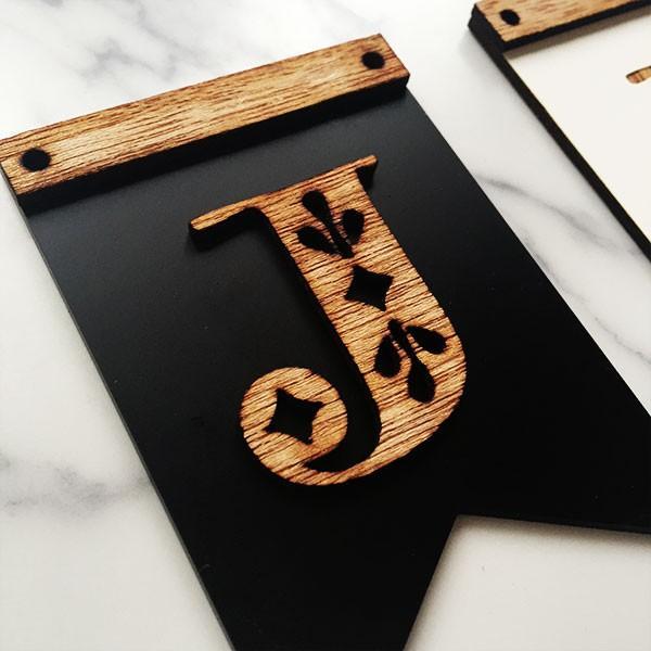 木製ガーランドフラッグ型ver01:DIY|weddingdecor|04