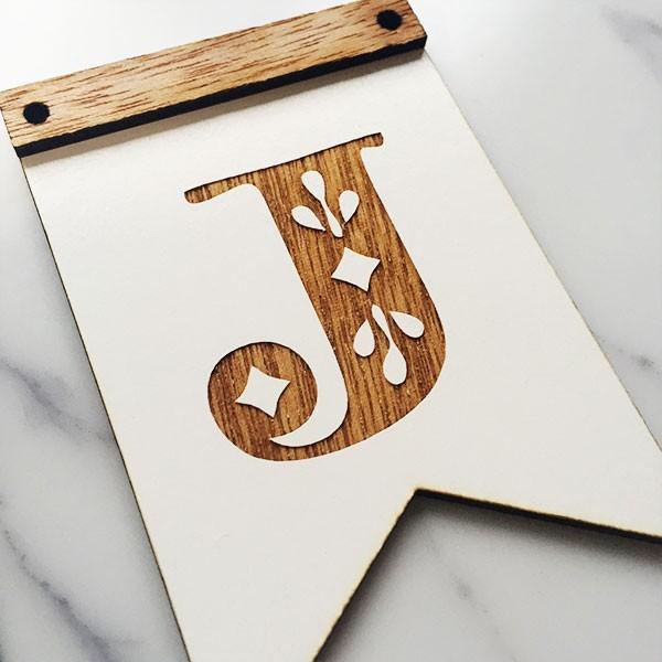 木製ガーランドフラッグ型ver01:DIY|weddingdecor|05