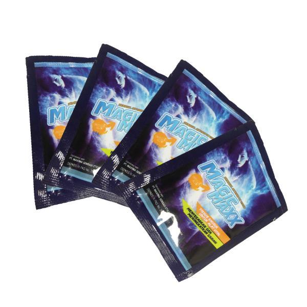 マジックマックス magic maxx ウェットティッシュ 早漏防止 お試し 4枚 日本語取説付|weedon|04