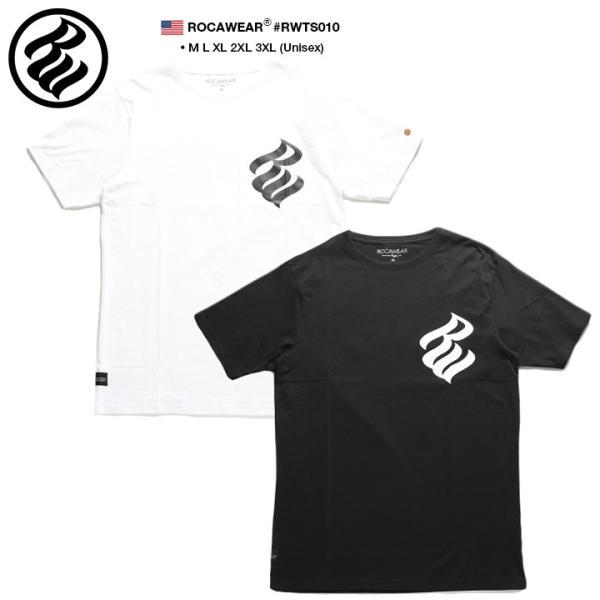 ロカウェア ROCAWEAR Tシャツ 半袖 メンズ レディース 大きいサイズ b系 かっこいい おしゃれ ナンバー ビッグシルエット アメカジ ダンス Bボーイ ギフト|weekindenim