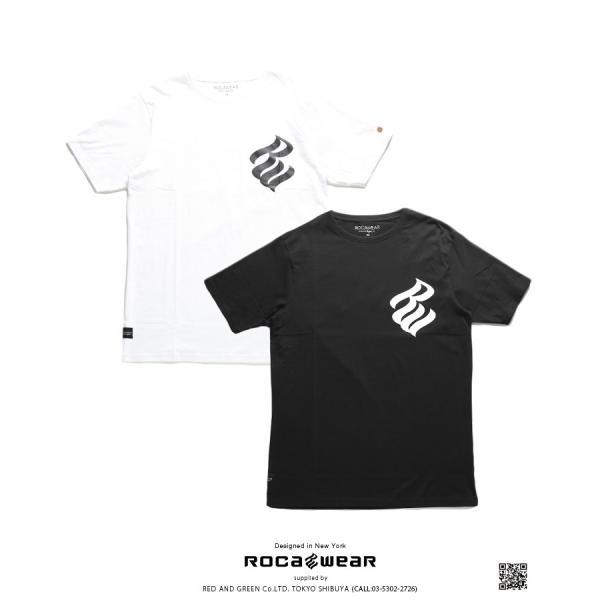 ロカウェア ROCAWEAR Tシャツ 半袖 メンズ レディース 大きいサイズ b系 かっこいい おしゃれ ナンバー ビッグシルエット アメカジ ダンス Bボーイ ギフト|weekindenim|11