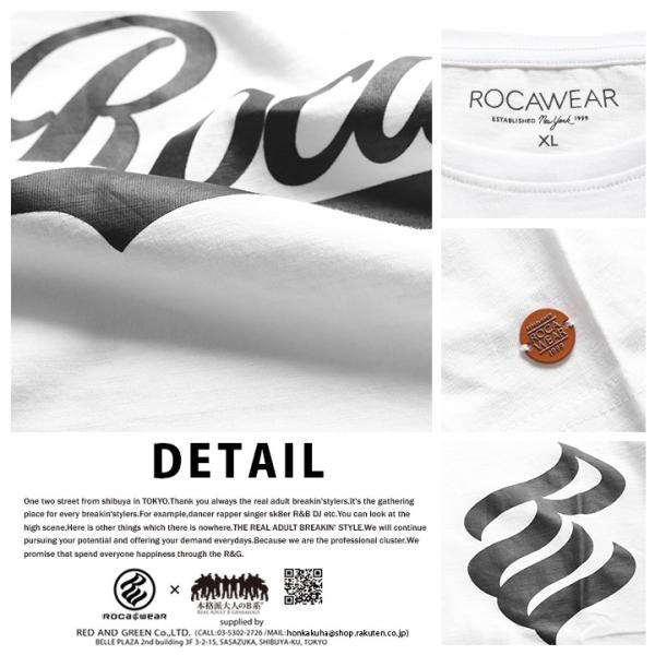 ロカウェア ROCAWEAR Tシャツ 半袖 メンズ レディース 大きいサイズ b系 かっこいい おしゃれ ナンバー ビッグシルエット アメカジ ダンス Bボーイ ギフト|weekindenim|13