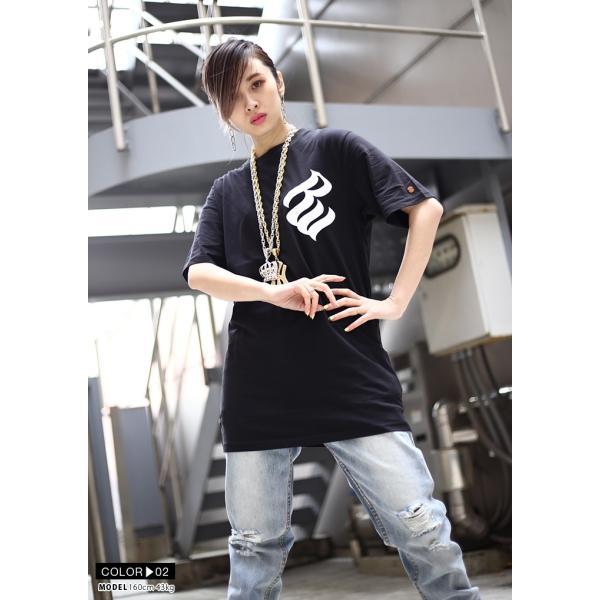 ロカウェア ROCAWEAR Tシャツ 半袖 メンズ レディース 大きいサイズ b系 かっこいい おしゃれ ナンバー ビッグシルエット アメカジ ダンス Bボーイ ギフト|weekindenim|09