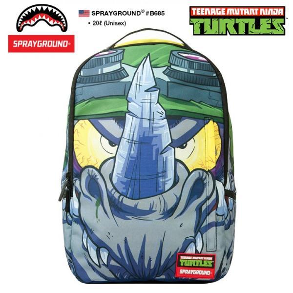 スプレーグラウンド SPRAY GROUND バックパック リュック 映画 タートルズ Turtles 限定コラボ