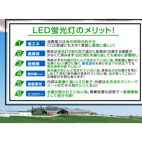 LED蛍光灯 20w形 直管 58cm LED 蛍光灯 1年保証付き|weimall|04
