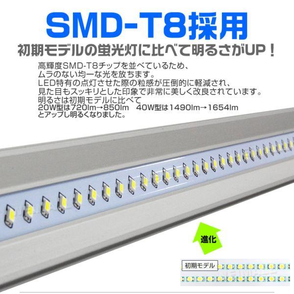 LED蛍光灯 20w形 直管 58cm LED 蛍光灯 1年保証付き|weimall|05