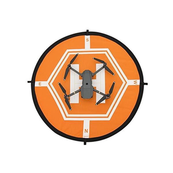 Xberstar DJI ドローン Mavic Pro ランディングパッド 改良版 ヘリポート Mavic Air/Spark/Phantom 4 3/Inspire 1にも対応 汎用 折