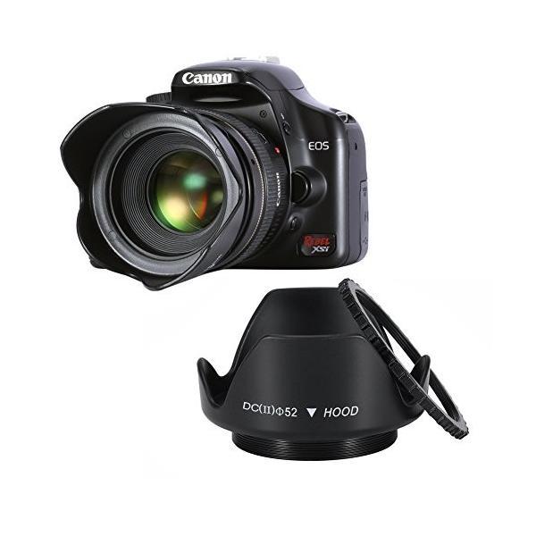 Neewer 52mmプロレンズフィルターアクセサリーキット フィルターキット(UV, CPL, FLD)+フィルターケース+花形レンズ|wejectstore|02