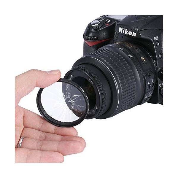 Neewer 52mmプロレンズフィルターアクセサリーキット フィルターキット(UV, CPL, FLD)+フィルターケース+花形レンズ|wejectstore|04