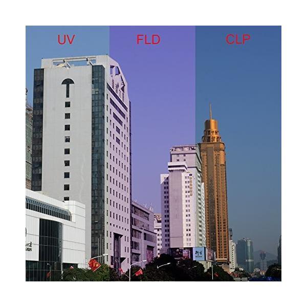 Neewer 52mmプロレンズフィルターアクセサリーキット フィルターキット(UV, CPL, FLD)+フィルターケース+花形レンズ|wejectstore|06