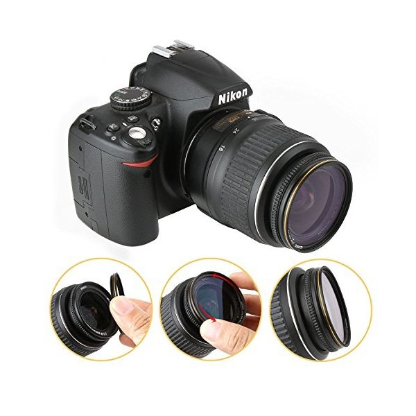 67mm レンズフィルター MC UV フィルター-ウルトラスリム16層多層加工 薄枠 紫外線保護 99% 透過率 Canon Nikon Sony対応