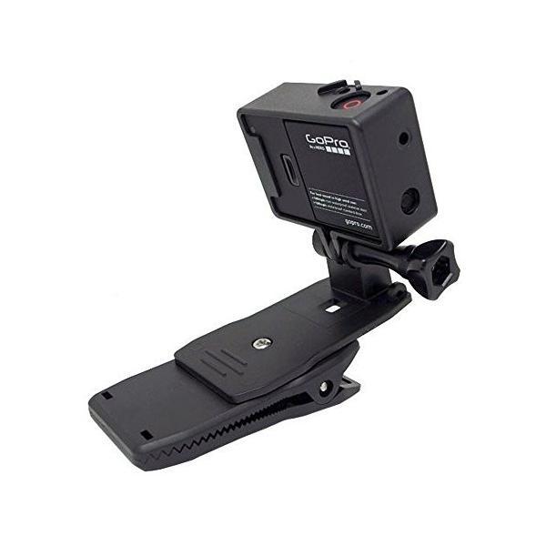 TopYart Gopro スポーツカメラ用 360度回転 クリップマウント Gopro HERO 3+ 3 2 1 用