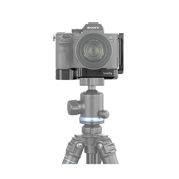 SmallRig Sony A7III/A7M3/A7RIII/A9専用ケージ L-ブラケットキット Sony A7III/A7M3/A7RIII/A|wellbe|05