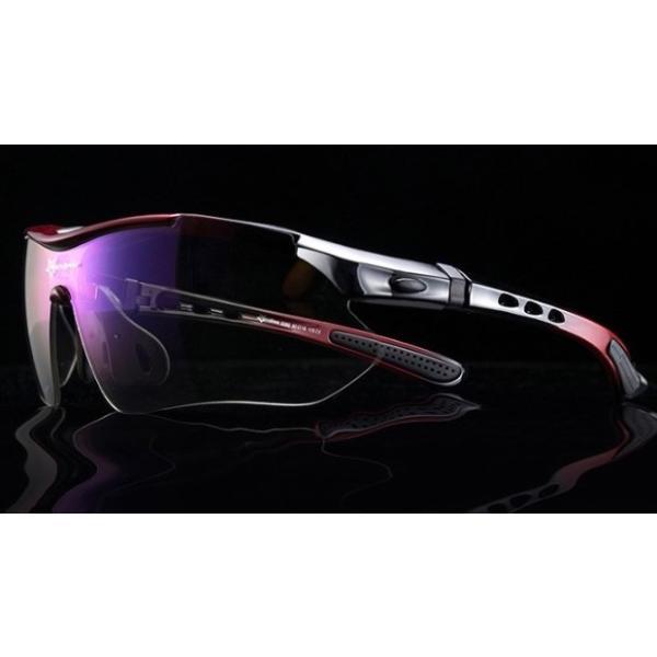 スポーツサングラス サングラス  偏光サングラス 偏光 ゴルフサングラス テニス バイク 野球 サイクリング ランニング メンズ レディース スキー スノーボード|west-re-tail2|19
