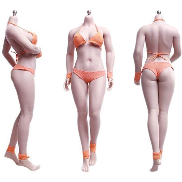 TBLeague1/6スケールフィギュア最新豊満バクソム巨乳女性素体ボディ少し肉付きグラビアモデル素体セット最新アジアン交換足交