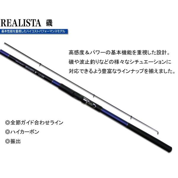 PRO TRUSTプロトラスト REALISTA磯レアリスタ 4-530PTS 530cm 063181 遠投磯ロッド