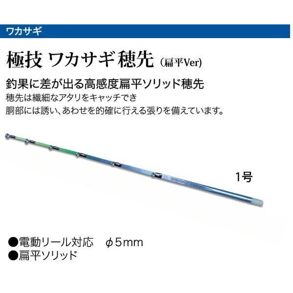 わかさぎセット 極技ワカサギ替え穂先 30cm HAPYSON 電動リールYH-201 電動セット