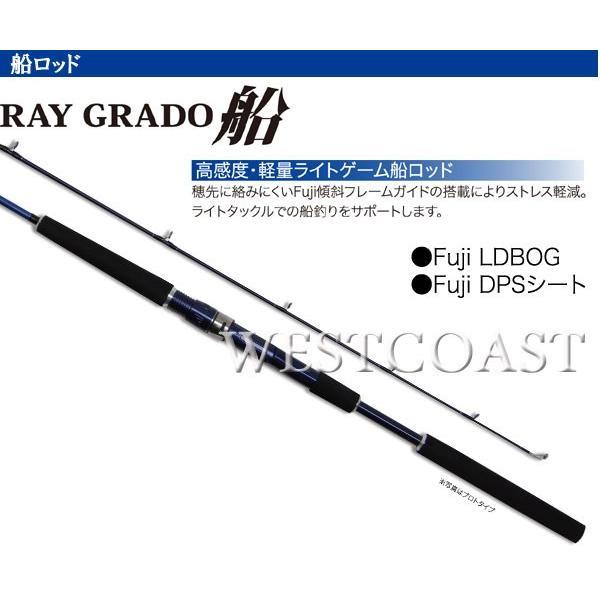 PRO TRUSTプロトラスト RAY GRADO船レイグラート 50-240cm 060128 船ロッド