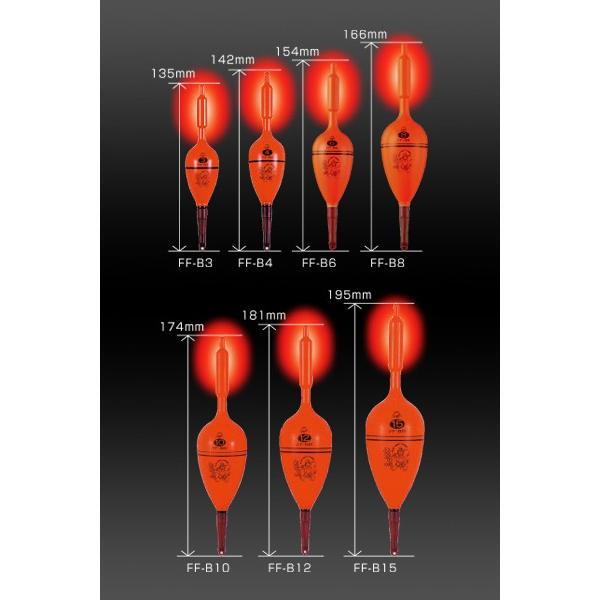 冨士灯器フジトウキ FF-B6/B8/B10/B12/B15 超高輝度電気ウキ