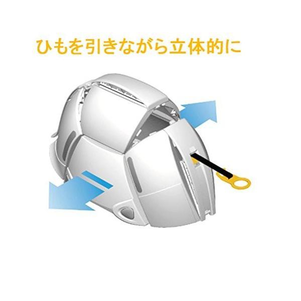 防災ヘルメット 折りたたみヘルメット 防災 収納 TOYO トーヨーセフティー BLOOM ブルーム/ホワイト NO.100 4962087108412|whatnot|04