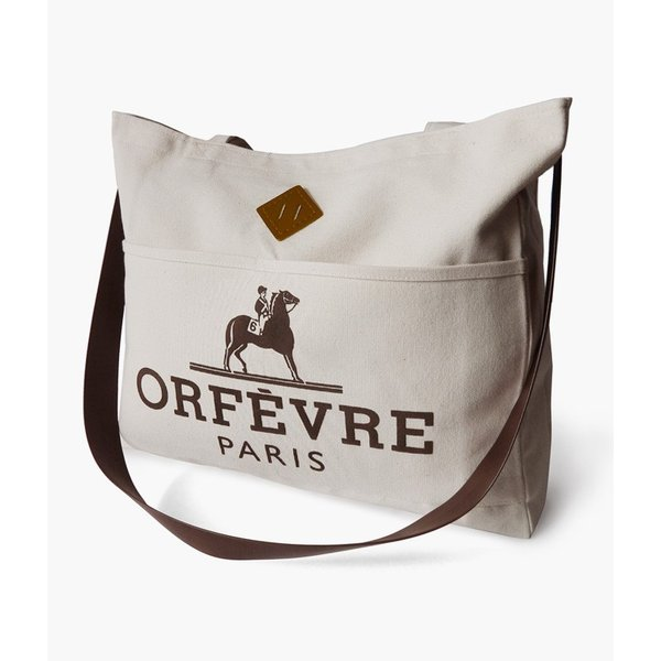 助成金/競馬/アパレル/Orfevre/Paris/Reins/Tote/Bag/オルフェーヴル/手綱/フール・トゥ/トートバッ