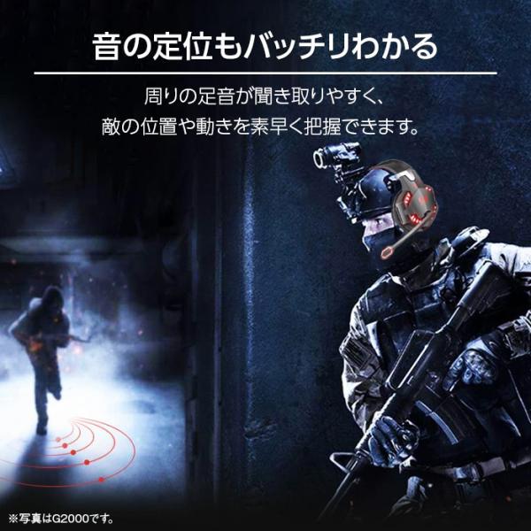 ゲーミングヘッドセット PS4 スイッチ SWITCH ヘッドセット ゲーミング ゲーム用ヘッドホン PC スマホ apex legends cod フォートナイト g2000 white-bang 06