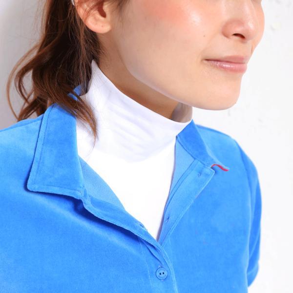 【送料無料】 UVカット クールアンダーウェア UV ハイネックインナー アンダーウェア レディース 長袖 ハーフ丈 首 紫外線対策 グッズ あすつく White Beauty white-beauty 04