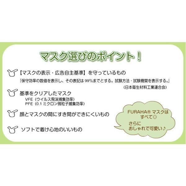 ふらは高性能 マスクフィルター 日本製 FURAHA ウイルス PM2.5マスク 花粉マスク (PFE) (VFE) あすつく White Beauty|white-beauty|05