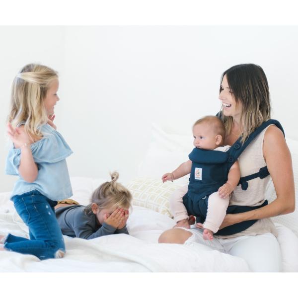 エルゴベビー 抱っこひも  OMNI(オムニ) 360 ベビーキャリア ミッドナイトブルー CREGBCS360BLU ベビーウエストベルト付き 正規品|whitebear-family|06