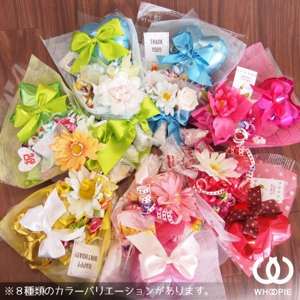 ピンクハート&リボン・キャンディブーケ|whoopie|04