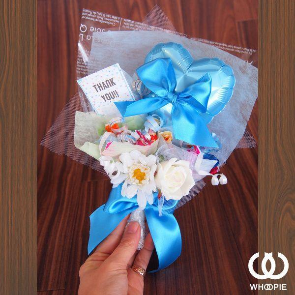 ブルーハート&リボン・キャンディブーケ|whoopie|02