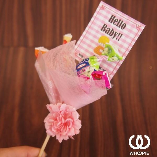 キャンディブーケピックmini・ピンク
