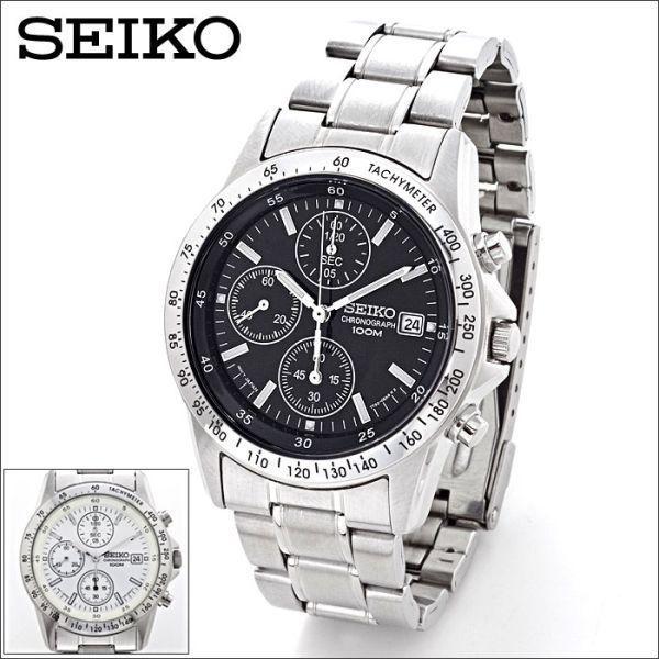 セイコー 腕時計 クロノグラフ メンズ腕時計 逆輸入 プレゼント 誕生日 ギフト セイコー腕時計 SND アナログ クォーツ 防水 10気圧防水 ストップウォッチ SEIKO wide02
