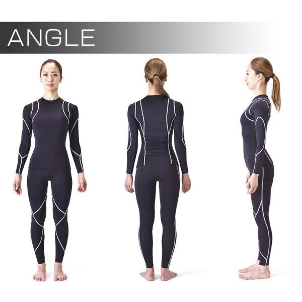 コンプレッションインナー メンズ レディース 男性 女性 速乾 着圧パンツ ロング 加圧 ランニング スポーツ ウォーキング フットサル コンプレッションウェア|wide02|15