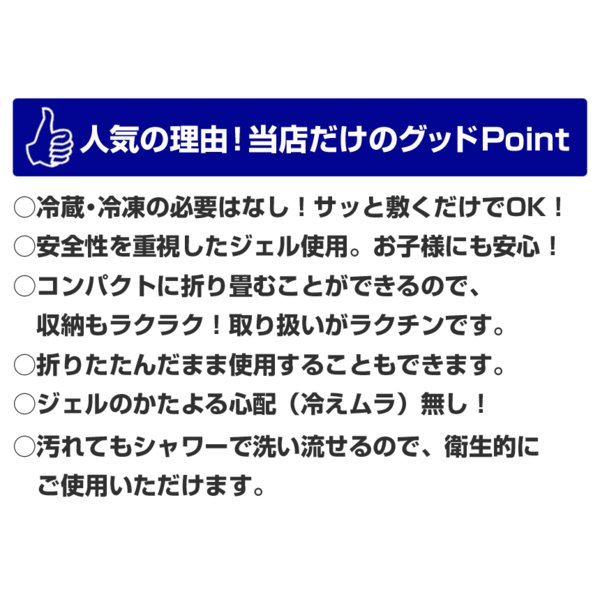 冷却マット ジェル ジェルシート 塩冷却マット 接触冷感 敷きパッド 冷感 ひんやりマット シングル 冷感マット プレゼント|wide02|13