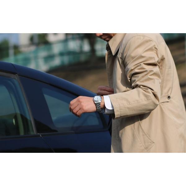 ソーラ電波腕時計 メンズ シチズン アナログ 薄い 軽い 薄型 軽量 メタルバンド 日付 電波時計 電波ソーラー腕時計 男性用 紳士用 時刻合わせ不要 62419|wide|13