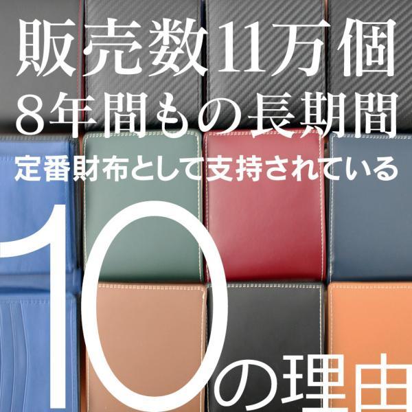 二つ折り財布 メンズ 大容量 カードたくさん入る 財布 新春財布 新年 革 名入れ ネーム入れ 本革 ボックス型 コンパクト シンプル 使いやすい|wide|03